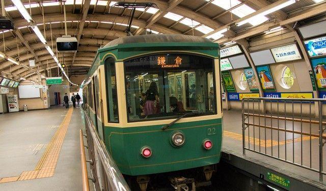 tren enoden un dia en kamakura