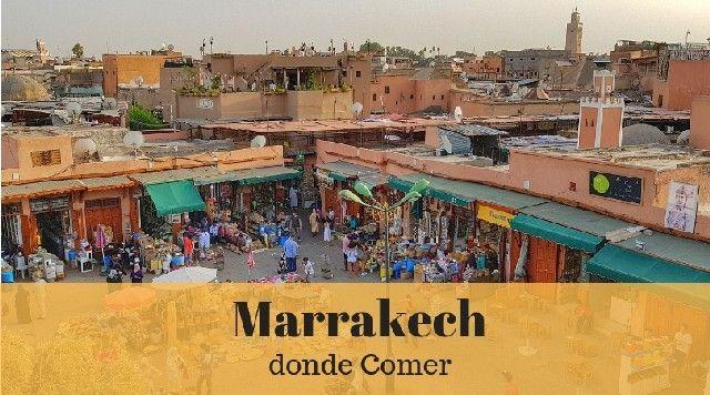 Donde comer en Marrakech
