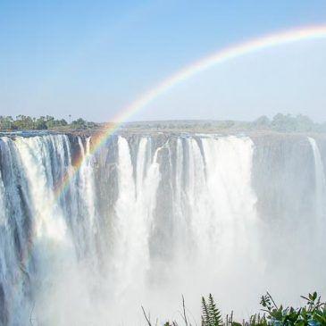 Victoria Falls desde el lado de Zimbabwe