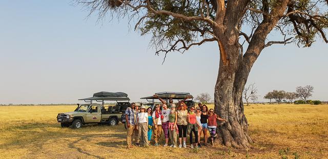 safari por la ribera del río khwai botswana (2)