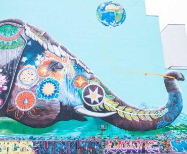arte callejero berlin elefante