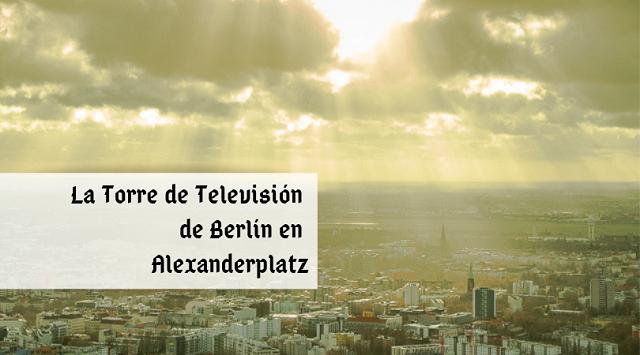 torre de televisión de berlin portada