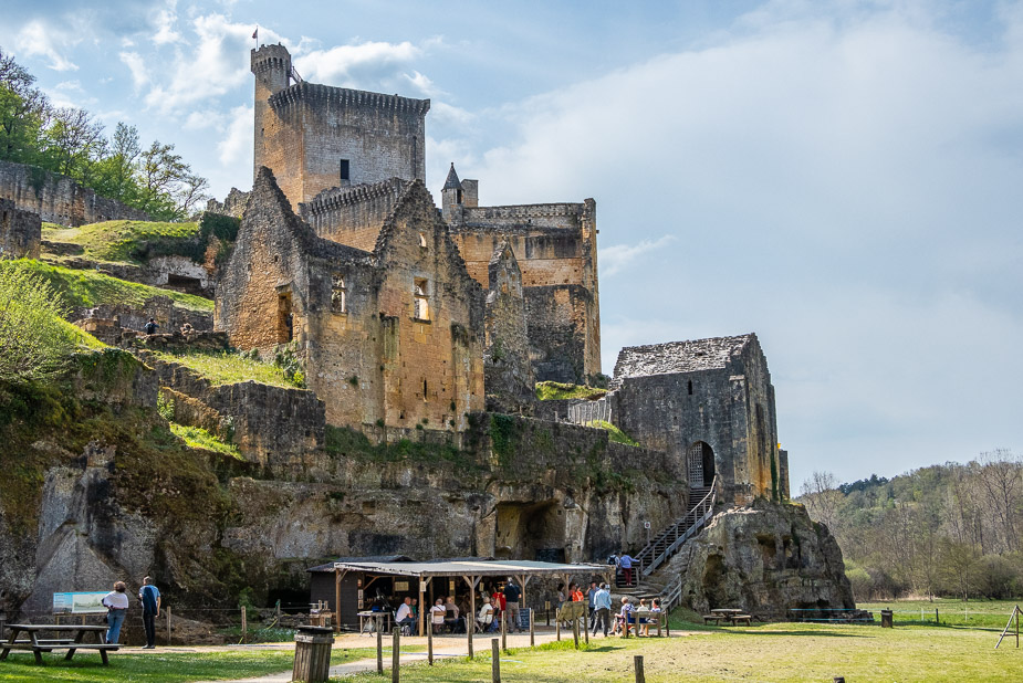 Castillo de Commarque Sarlat La Caneda (1)