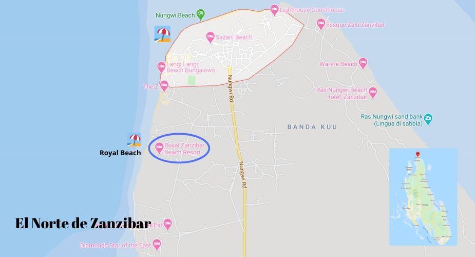 mapa-norte-de-zanzibar-nungwi-beach