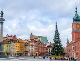 Varsovia en Navidad en un día