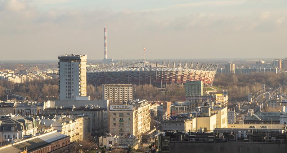 vistas desde el hotel Novotel Varsovia (1)