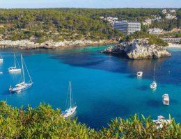 Las calas del Sur de Menorca en Barco
