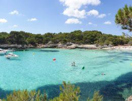 Cala Turqueta y otras calas del Sur (Menorca)